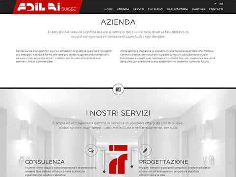 Sito web EDILBI SUISSE St. Moritz