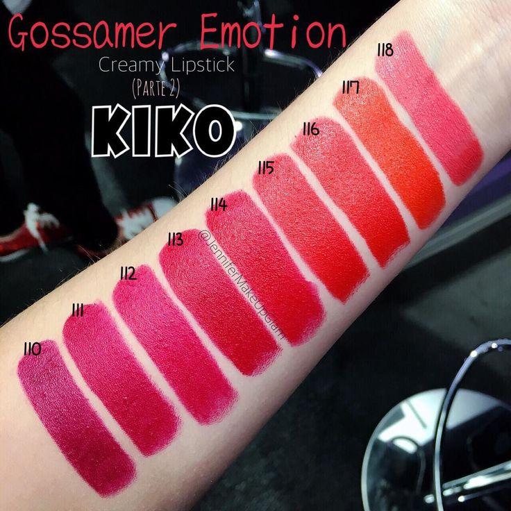 KIKO GOSSAMER EMOTION CREAMY LIPSTICK