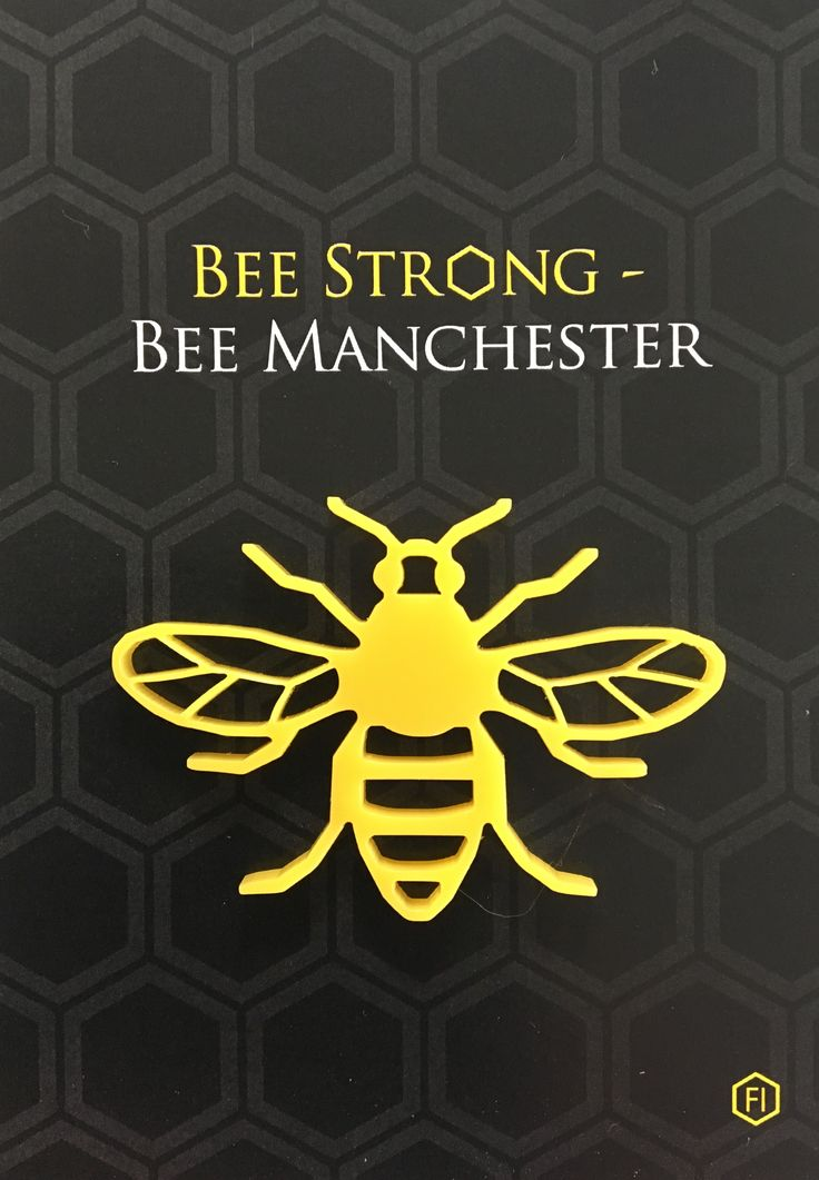 Facebook page BeeStrongBeeManchester Rishworth School pupil instigates fund raising-Art and DT Departments help Millie to produce the Manchester BEE pin Facebook BeeStrongBeeManchester