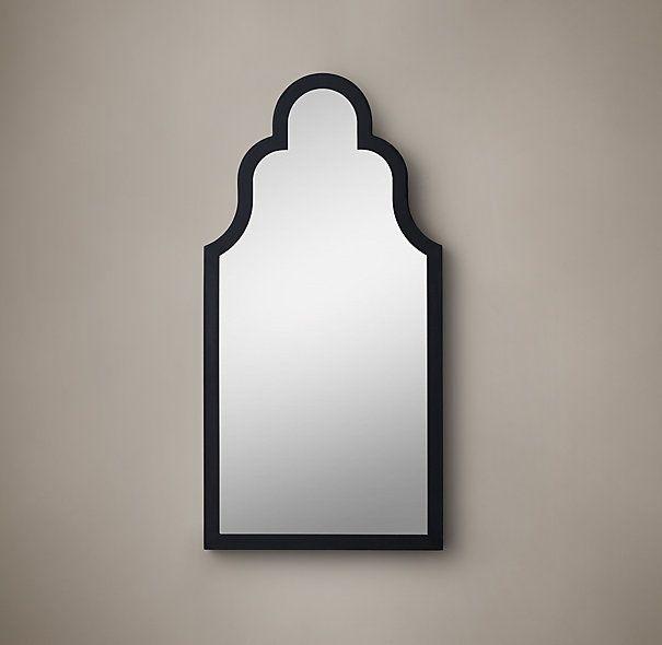 Dutch baroque mirror black 20 x 40 30 x 60 395 495 for Mirror 40 x 60