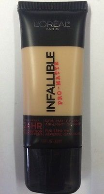NEW - Loreal-Infallible Pro-Mate - 24hr. Foundation # 110 Cream Cafe - 1 oz