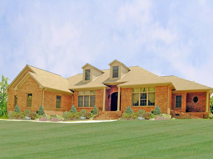 Dressell Ranch Home House Plans Southern House Plans