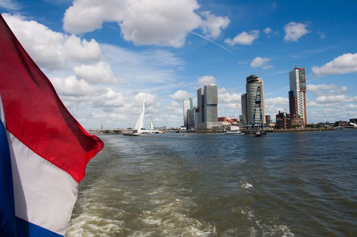 Boat ride through Rotterdam | Plavba Rotterdamem