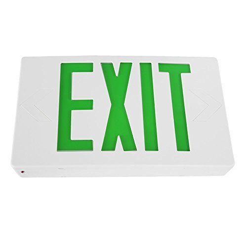 eTopLighting LED Exit Sign Emergency Light Lighting Emergency LED Light  Battery Backup  Green Letter AGG898 >>> Be sure to check out this awesome product.