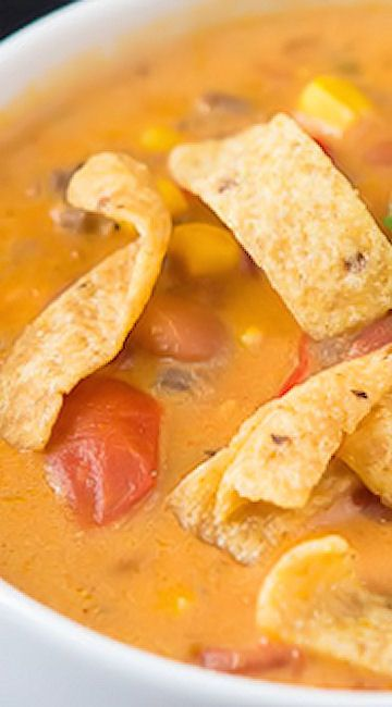 Santa Fe Soup with Cheese Recipe