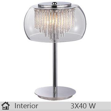 Veioza iluminat decorativ interior Rabalux, gama Mona, model  2822