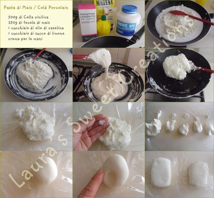 Laura's Sweet Creations: Tutorial per la pasta base cotta
