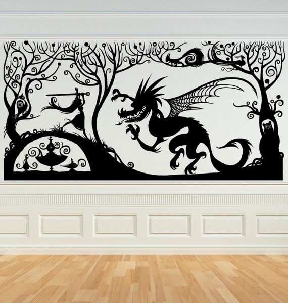 Best  Victorian Wall Decals Ideas On Pinterest Peter Pan - How to put a vinyl decal on a wall