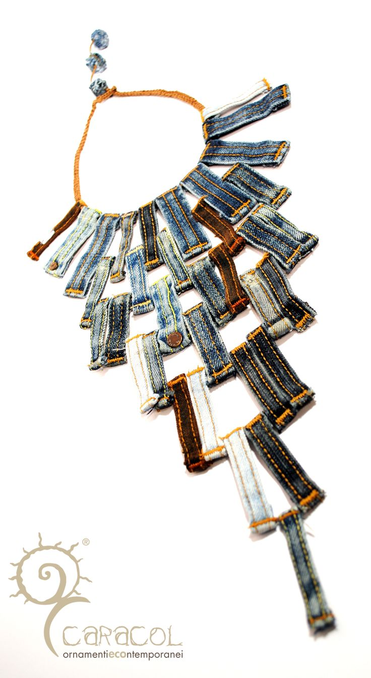 love this belt loop necklace!