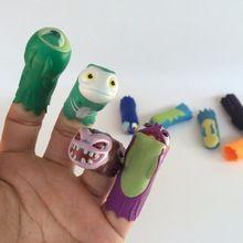 24 stks Slugterra Pistola Gun Bullet Naaktslakken Action Figure Speelgoed Slugterra Handpoppen Poppen Kerst Verjaardagscadeau voor Jongen Qumi Qu(China (Mainland))