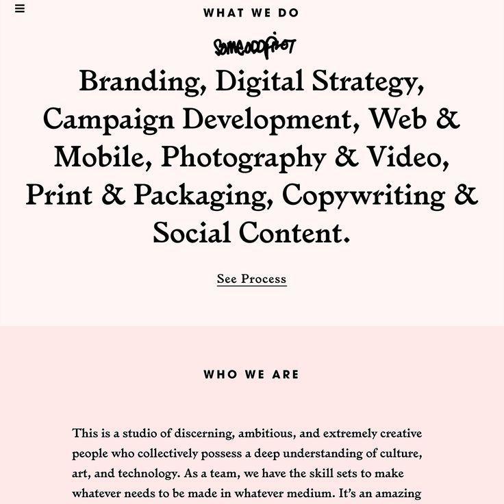 Fonts Used: Larish Alte, Avant Garde, and Sentinel · Typewolf Typography Inspiration