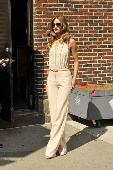 An elegant ensemble like this one by Michael Kors is a simple outfit that turns heads #fashion