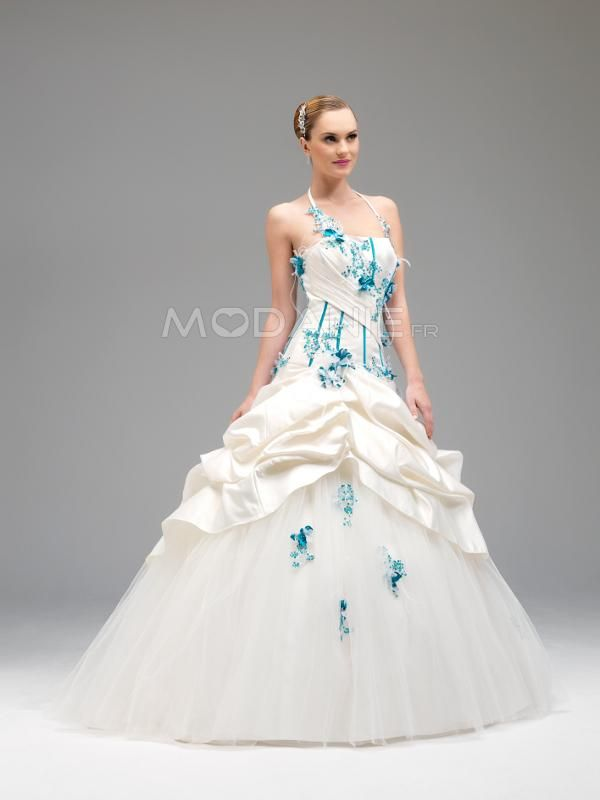 ... robe de mariée en couleur on Pinterest  Satin, Shoes 2014 and Style