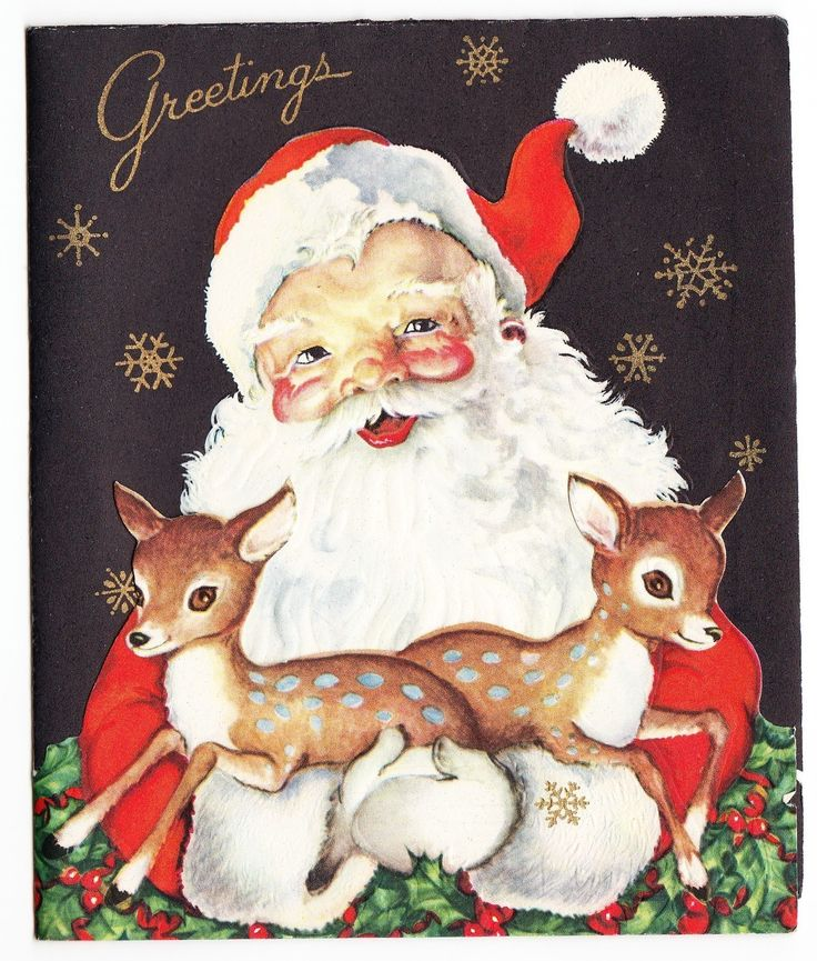 Best images about vintage xmas cards on pinterest