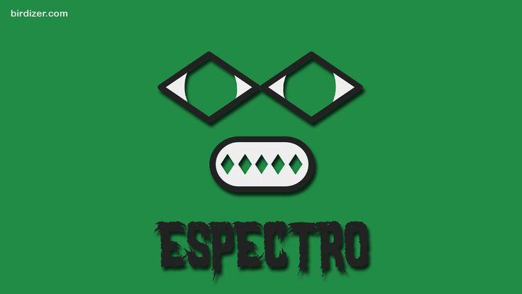 Espectro máscara wallpaper