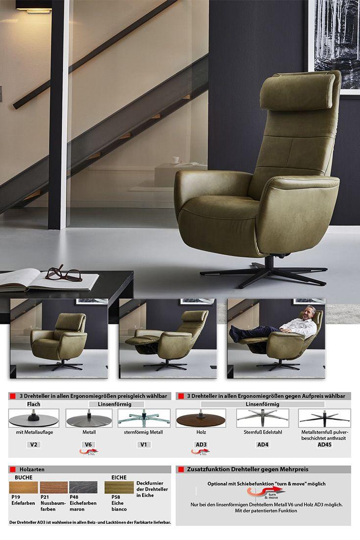Hukla Lc02 Funktionssessel In Dunkelgrun Mobel Letz Ihr Online Shop Sessel Gemutliches Sofa Lendenkissen