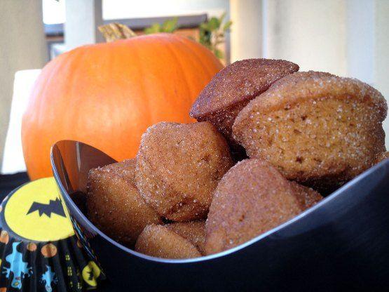 Mini muffins de calabaza