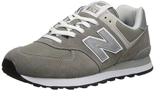 New Balance Men's Iconic 574 Sneaker, Grey, 8.5 D US
