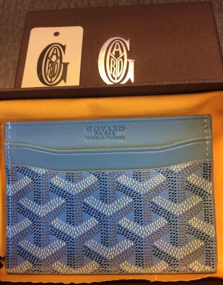 Goyard card holder fashion clothing shoes accessories