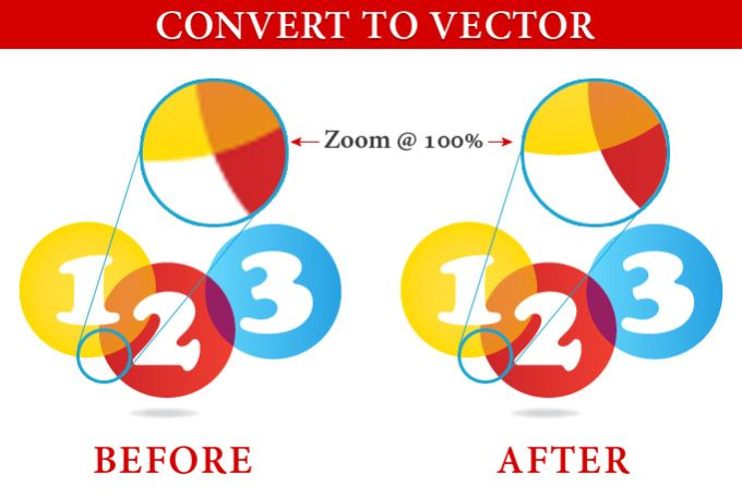 convert logo to vector high resolution and professional