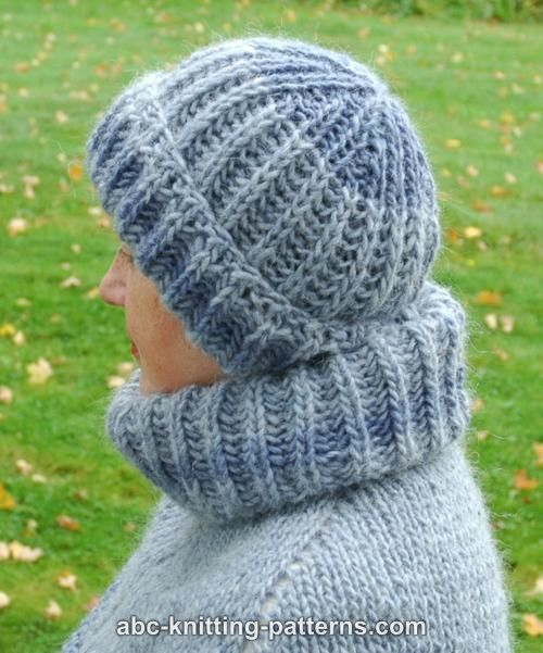 ABC Knitting Patterns - Fisherman's Rib Stay-Warm Hat