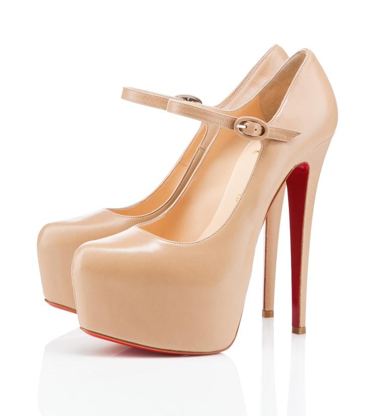 prettyDaf 160Mm, Nude Shoes, Louboutin Pump, 160Mm Nude, Christian Louboutin Shoes, Lady Daf, Brad Paisley, Louboutin Lady, High Heels