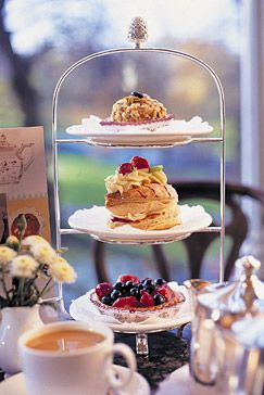 more afternoon tea