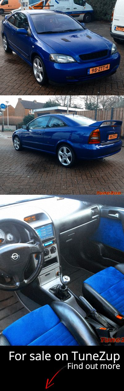 For Sale: #Opel #Astra 2.0 #Turbo Coupé 2002 Blauw  More: http://tunezup.com/car-tuning/car/8048-opel-astra-2-0-turbo-coupe-2002-blauw