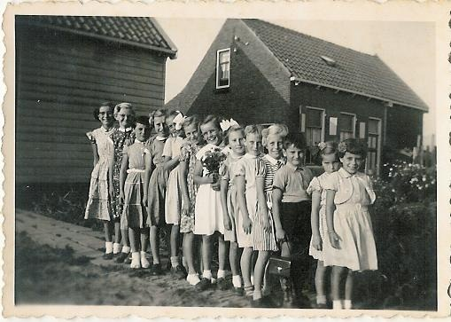 Verjaardagsfeestje 1955