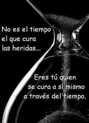 El tiempo no es el que cura