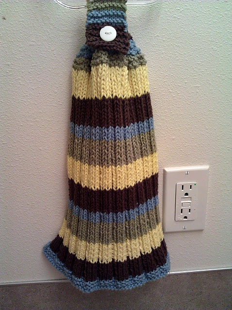 Knitted Hand Towel Patterns :