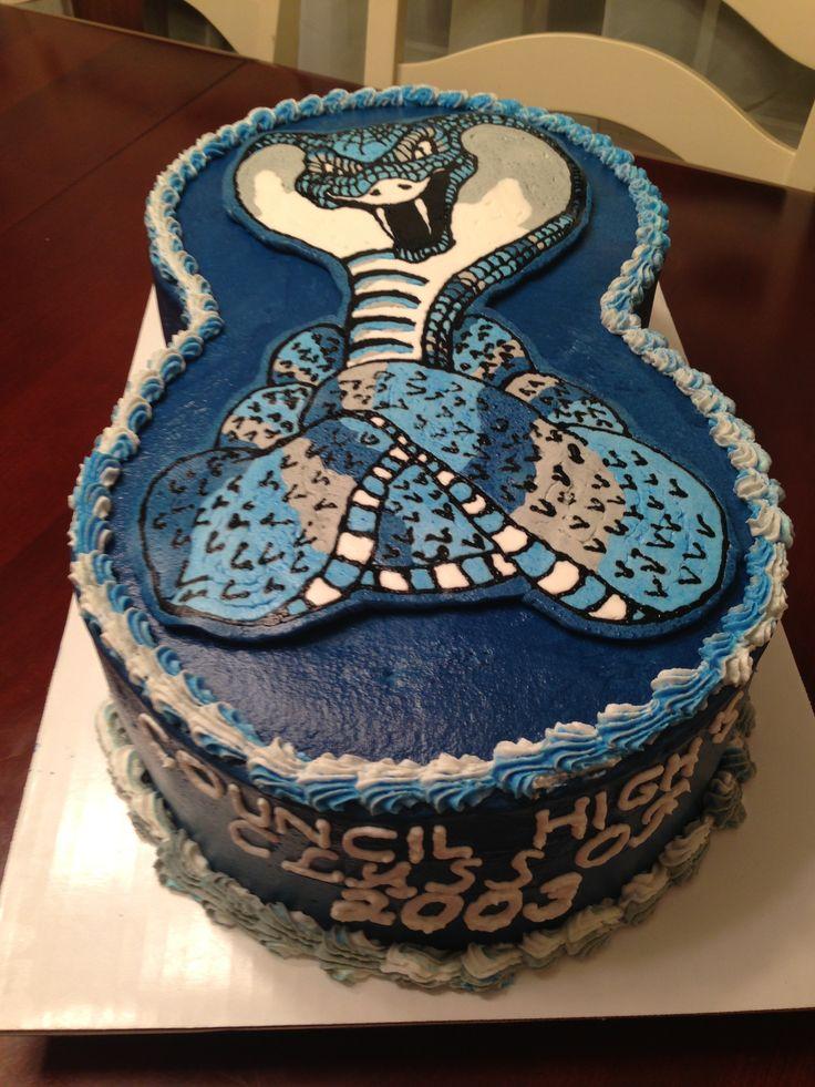 Council cobra cobras high school reunion cake  Cakes  Pinterest ...