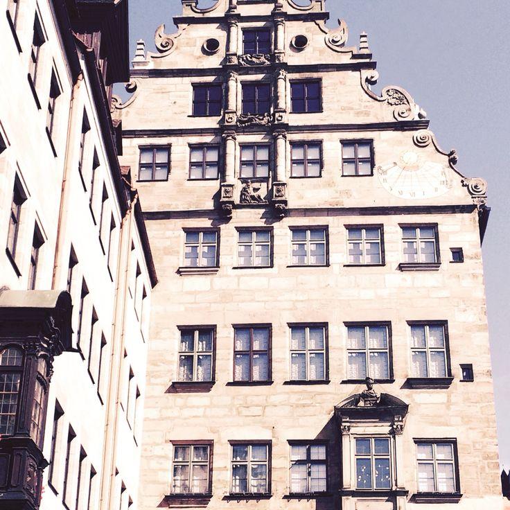Fembohaus Original erhalten. Handelshaus und Wohnhaus Fembo. Patrizier Familie.