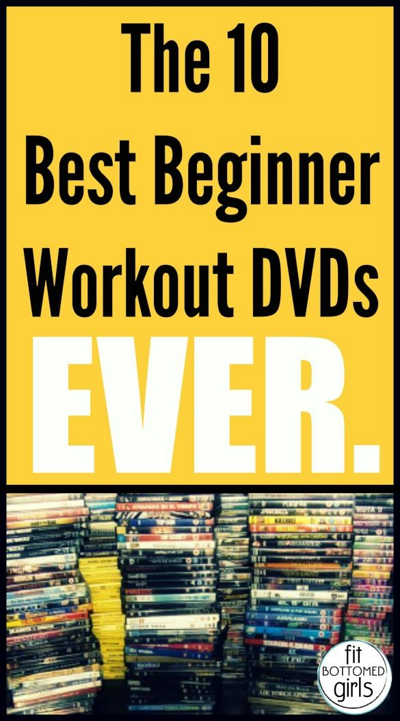 The 10 best workout DVDs for beginners!