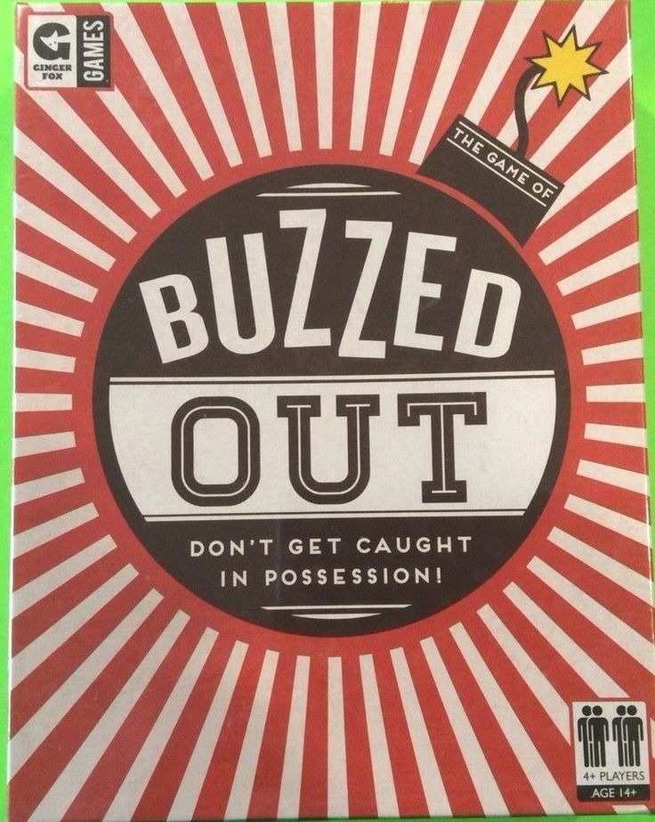 Buzzed Out Word Game by Ginger Fox Games New & Sealed #GingerFozGames
