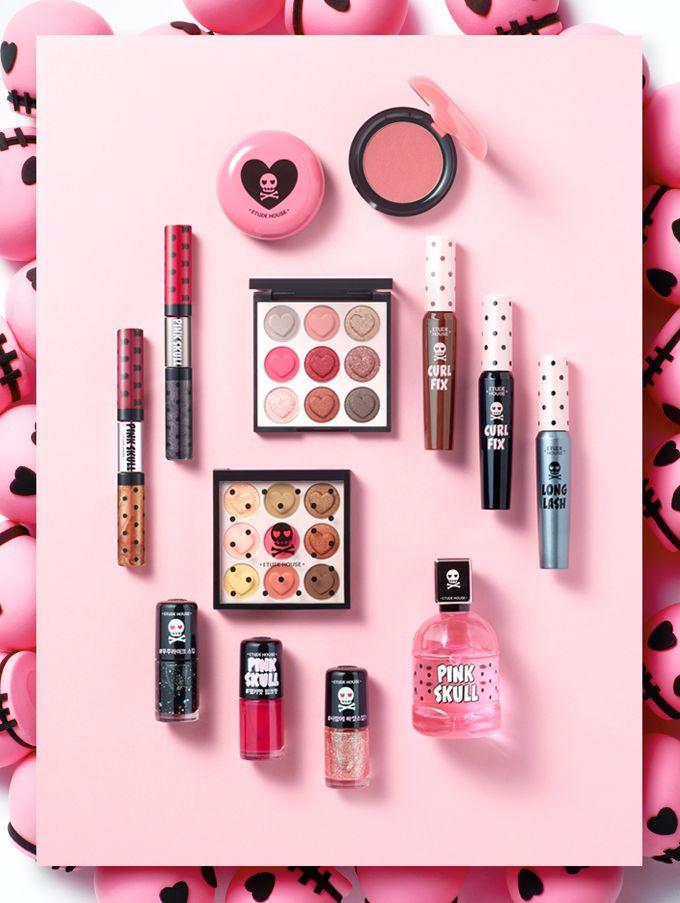 에뛰드-쇼핑-핑크스컬 컬러 아이즈 - Etude House - Pink Skull Collection