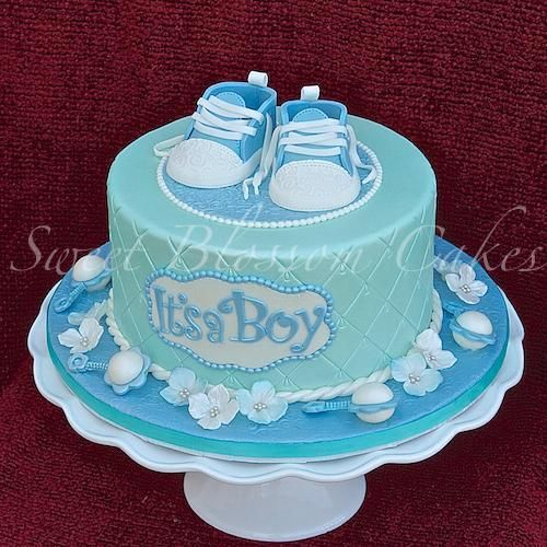 Boys Baby Shower Cake: Baby Shower Cake By TaHe4ka