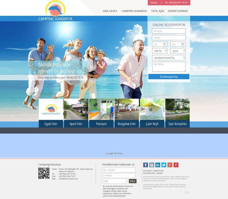 Camping Kanarya   Web Design