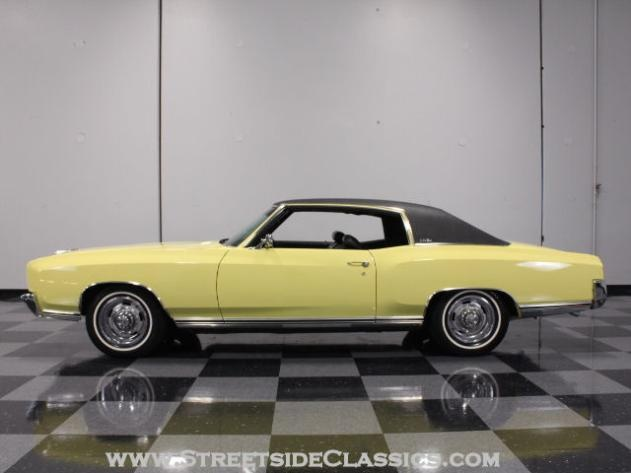 AutoTrader Classics - 1972 Chevrolet Monte Carlo Coupe Yellow Other Automatic Other | American Classics | Lithia Springs, GA