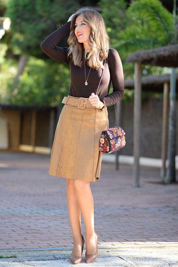Cupro Skirt - Three Mornings in May by VIDA VIDA Original For Sale ZhDY6x6WHu