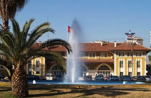 Historical Train Station in Adana / Turkey