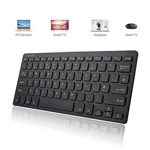 2.4G WIRELESS KEYBOARD COMPACT ULTRA SLIM COMPUTER DESKS GAMING FREE UK DELIVERY