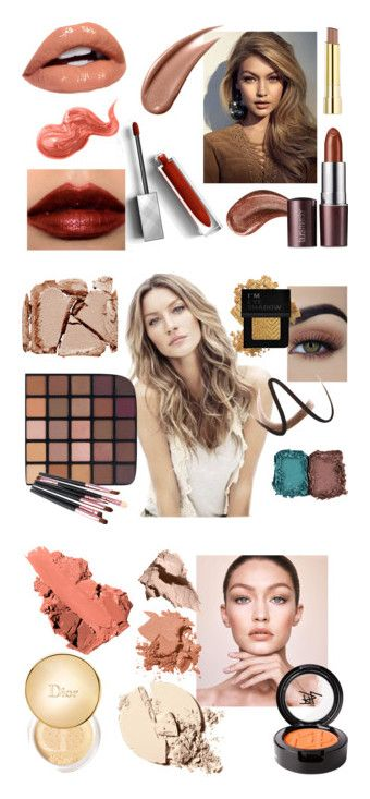 """Soft Autumn Makeup"" by stylist-vera on Polyvore featuring coloranalysis, softautumn, autumnmakeup, type3, beauty, Gucci, Burberry, Bobbi Brown Cosmetics, Laura Mercier and Stila"