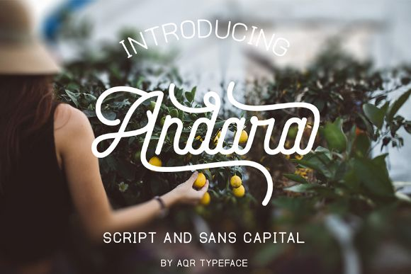 Andara Script Free Demo is a manual lettering with type soft and sans touch. These two font script and sans is a great combination /Volumes/Marketing/_MOM/Design Freebies/Creative Market Freebies/Aqr-Typeface_andara_script_090117