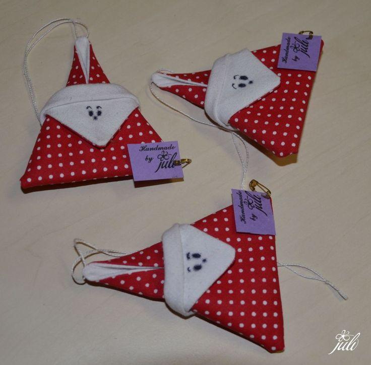 Santa Claus - patchwork, mikulas - skladany, so easy