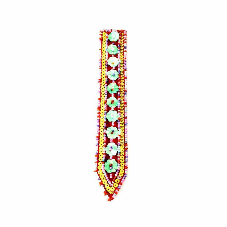 Embellished Bookmark-£2 #prettytwisted #stationary #bookmark http://prettytwistedonline.co.uk/product/embellished-bookmark-6/