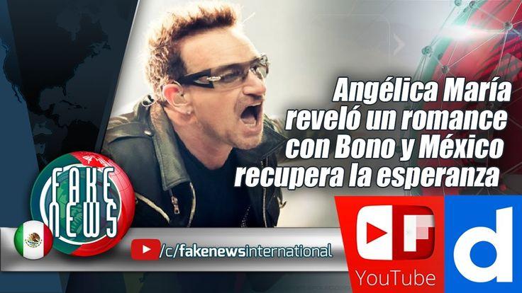 Angélica María reveló un romance con Bono y México recupera la esperanza