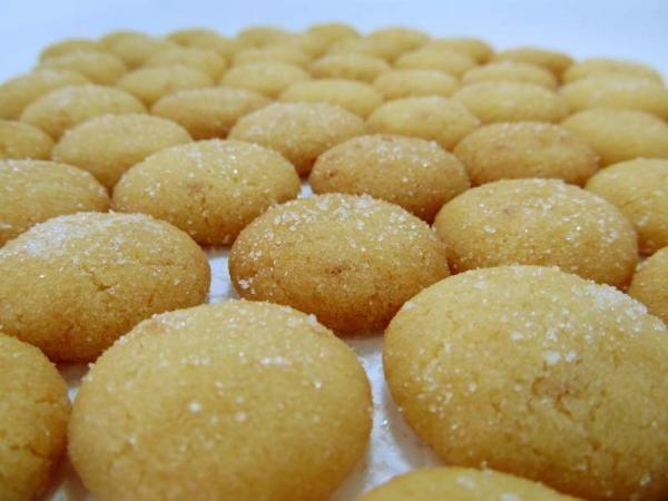 Dusty cookies - Galletas polvorosas - Fácil - RecetasGratis.net