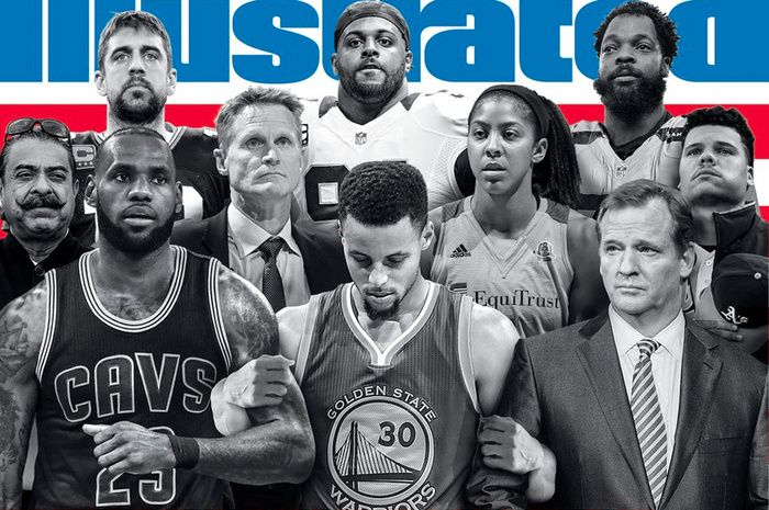 Stephen Curry Blasts Sports Illustrated 'Unity' Cover for Not Including Colin Kaepernick ... #fstoppers #News