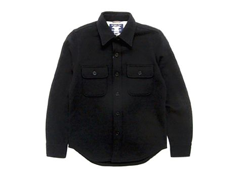 Classic Wool CPO shirt by Fidelity | Mens tops, Shirts ...
